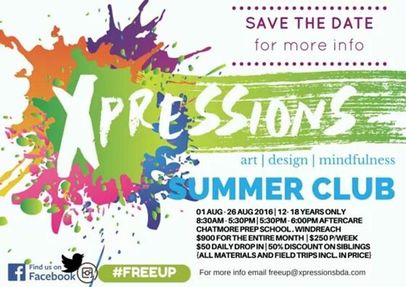 Xpressions Bermuda Summer Art Club (2)