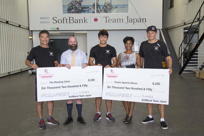 check presentationSoftBank Team Japan Bermuda July 7 2016