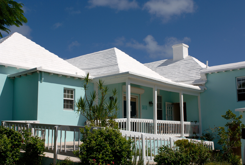 view of Agape House Bermuda July 2016