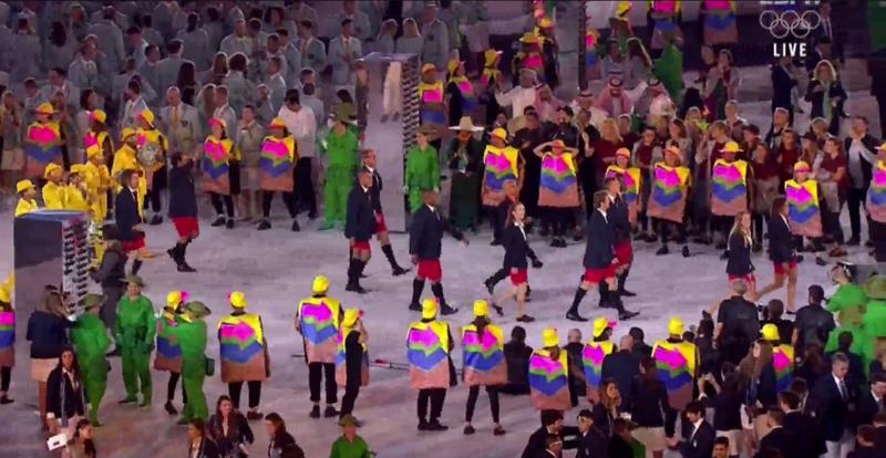 2016 Rio Olympics Parade Bermuda August 5 2016 2