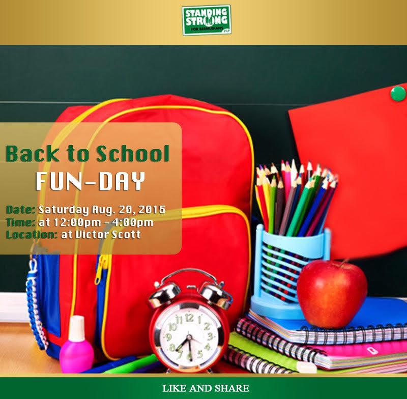 Back to School Fun Day Bermuda August 18 2016