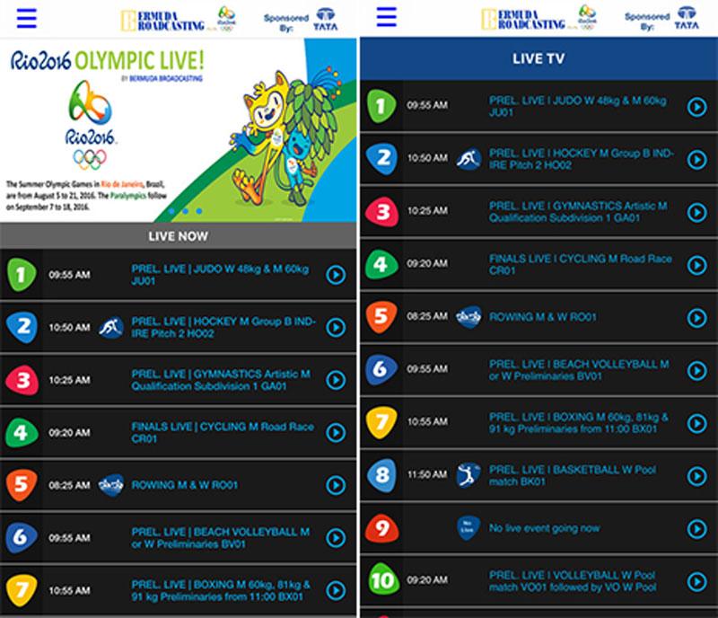 Bermuda Broadcasting Company App
