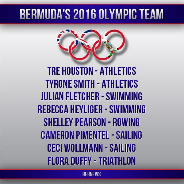 Bermuda's 2016 Olympic Team IG 2