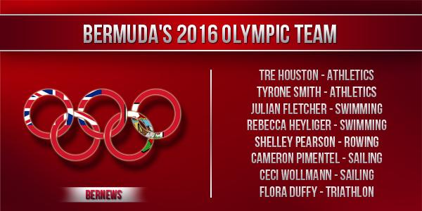 Bermuda's 2016 Olympic Team TC2