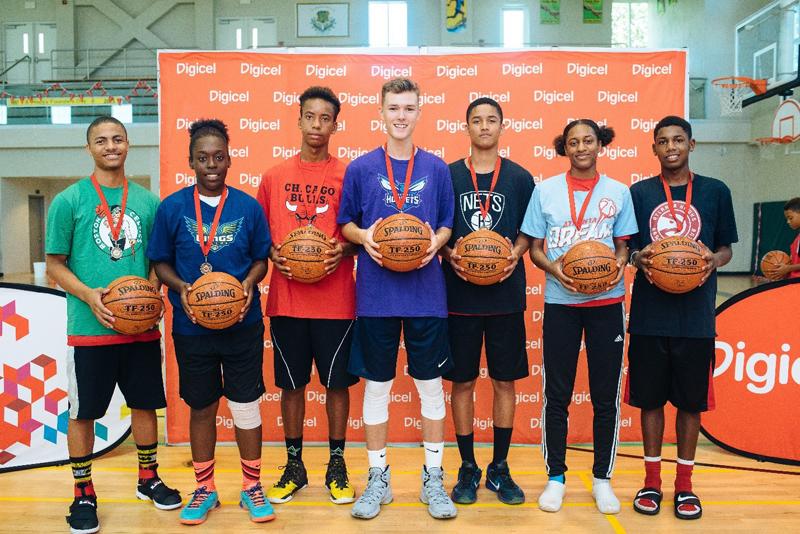 Digicel NBA Jumpstart Clinics Bermuda August 30 2016 1