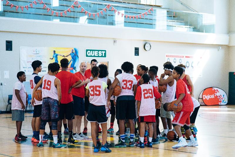 Digicel NBA Jumpstart Clinics Bermuda August 30 2016 2