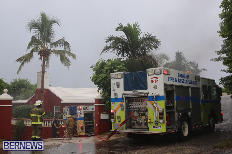 Fire Bermuda August 24 2016 1