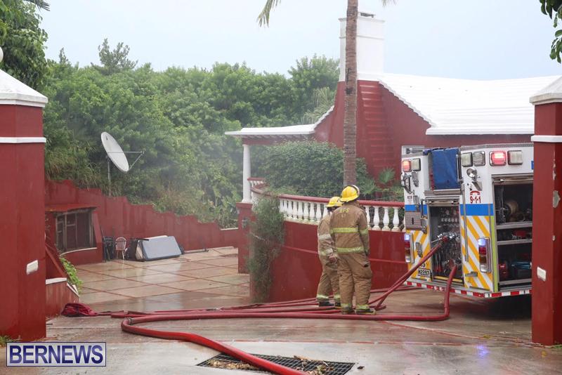 Fire Bermuda August 24 2016 2