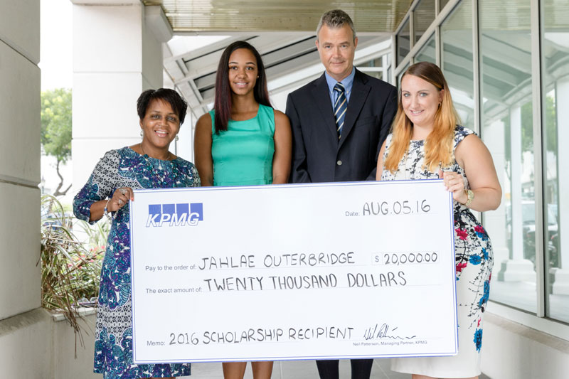 KPMG 2016 Scholarship Winner