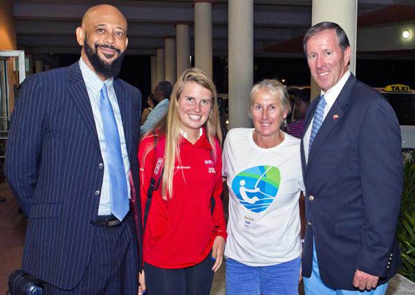Minister 2016 Rio Olympics Team Return Bermuda August 25 2016 1