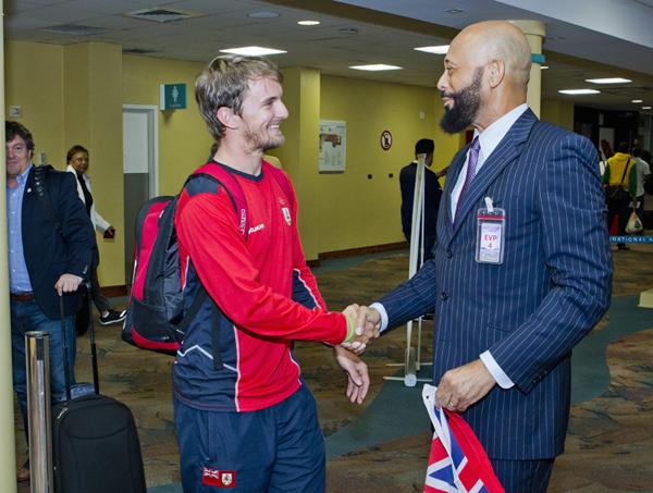 Minister 2016 Rio Olympics Team Return Bermuda August 25 2016 4