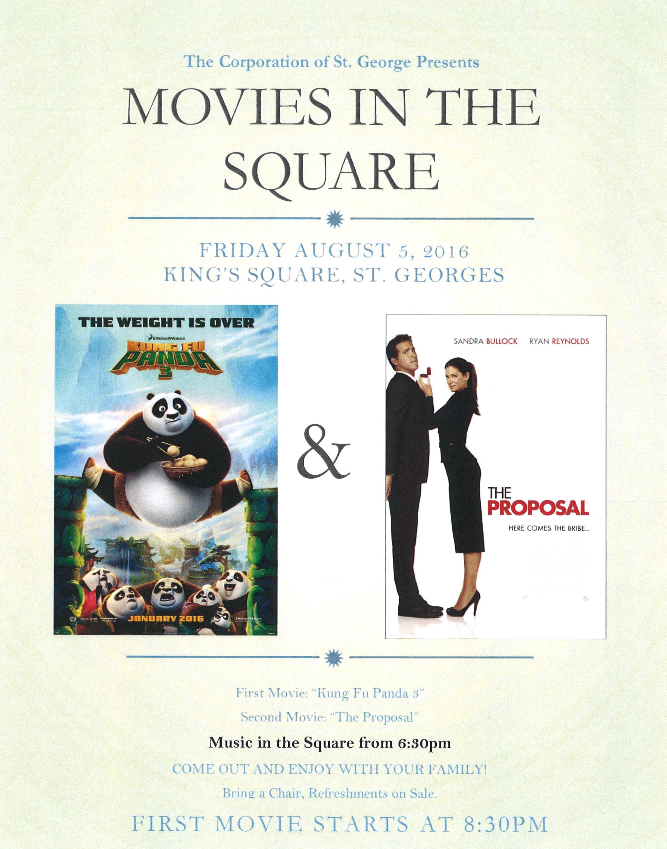 Movie Night Bermuda August 4 2016