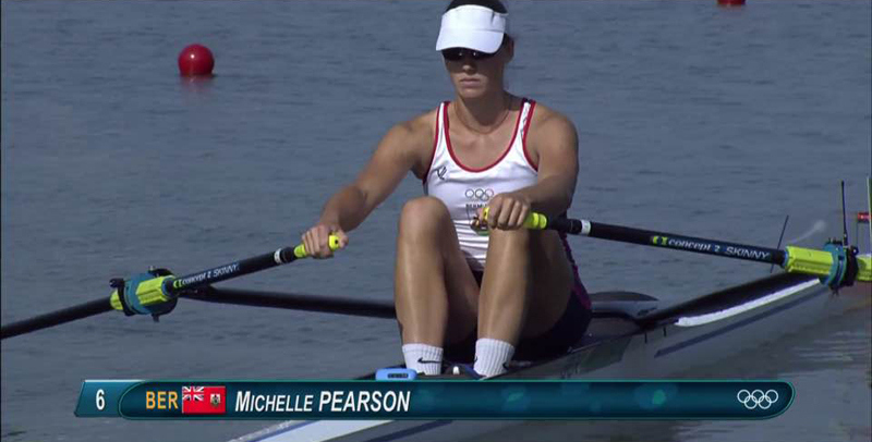 Pearson. Michelle Olympics Bermuda August 9 2016