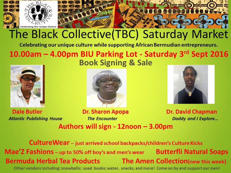 The Black Collective Bermuda August 31 2016 1