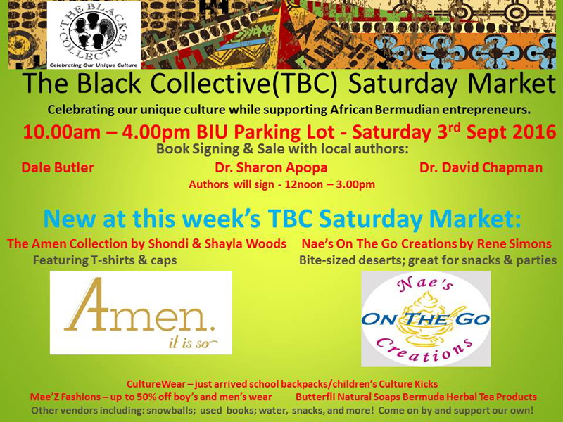The Black Collective Bermuda August 31 2016 2