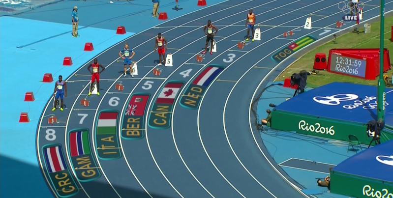 Tre Houston Bermuda Olympics August 16 2016 1