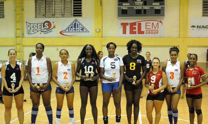 Volleyball-showing-awards Bermuda August 8 2016