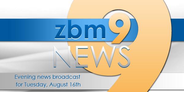 zbm 9 news Bermuda August 16 2016