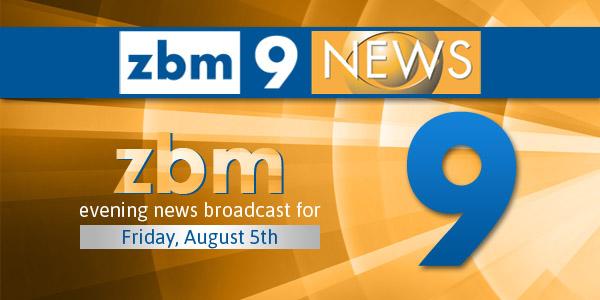 zbm 9 news Bermuda August 5 2016