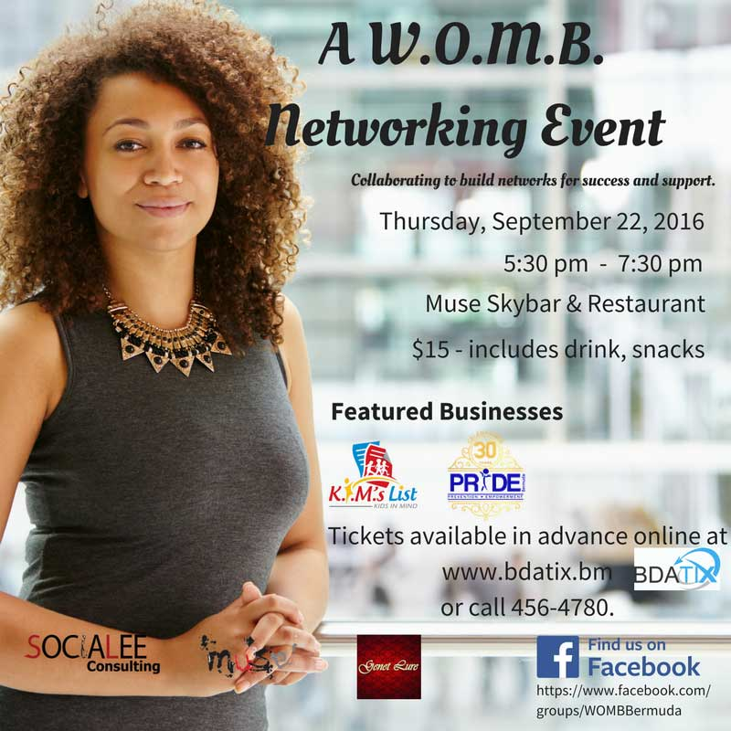 A W.O.M.B. Networking Event bdatix