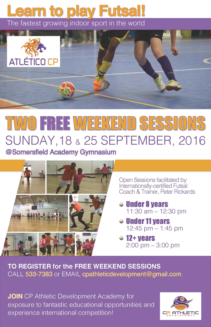CPAD Free Sessions Bermuda September 16 2016
