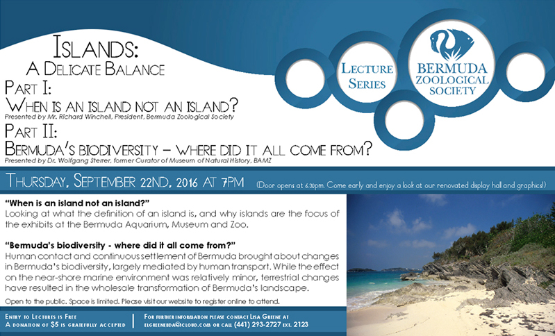 Islands a Delicate Balance Bermuda September 19 2016
