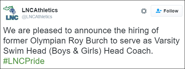 LNC Athletics Roy Burch Bermuda September 2016
