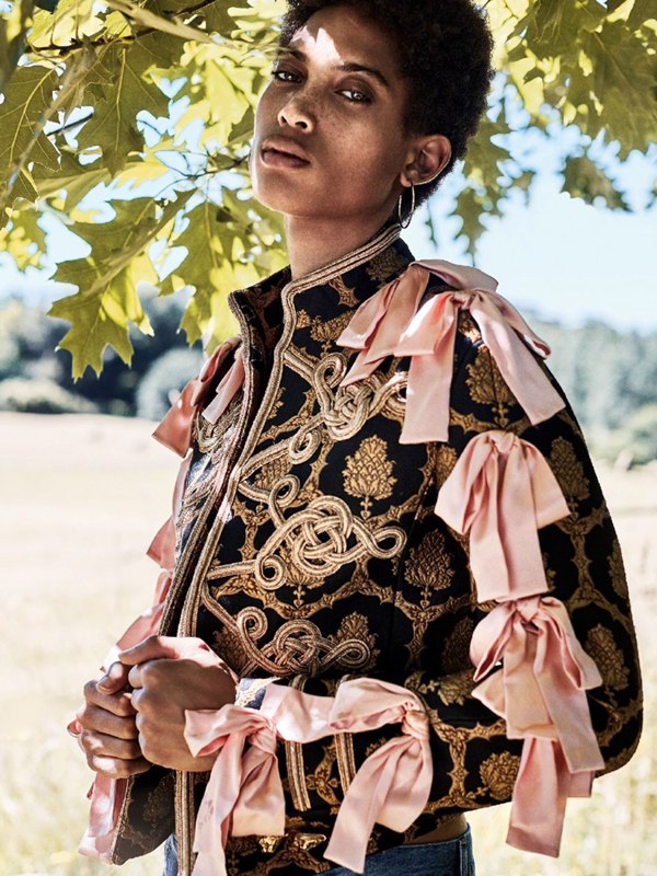 Lily Lightbourn Bermudian model Glamour UK 2016 4