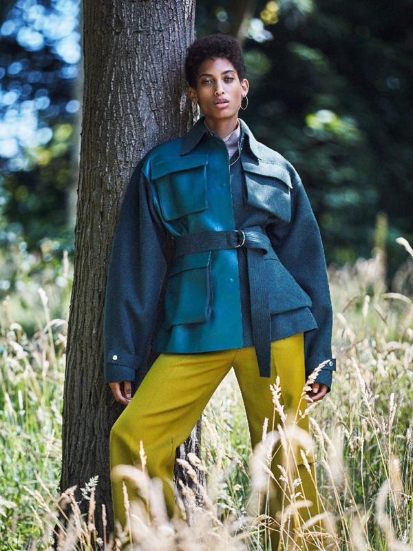 Lily Lightbourn Bermudian model Glamour UK 2016 7