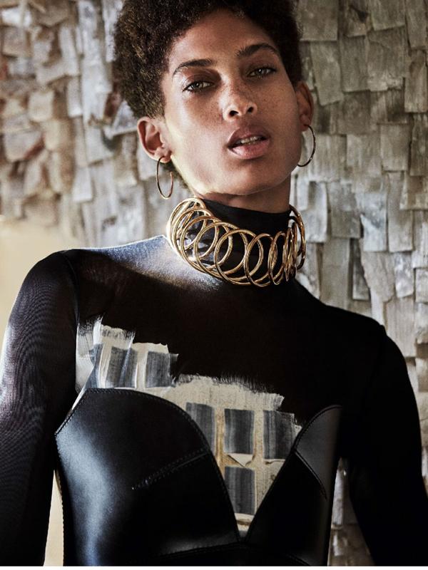 Lily Lightbourn Bermudian model Glamour UK 2016 9
