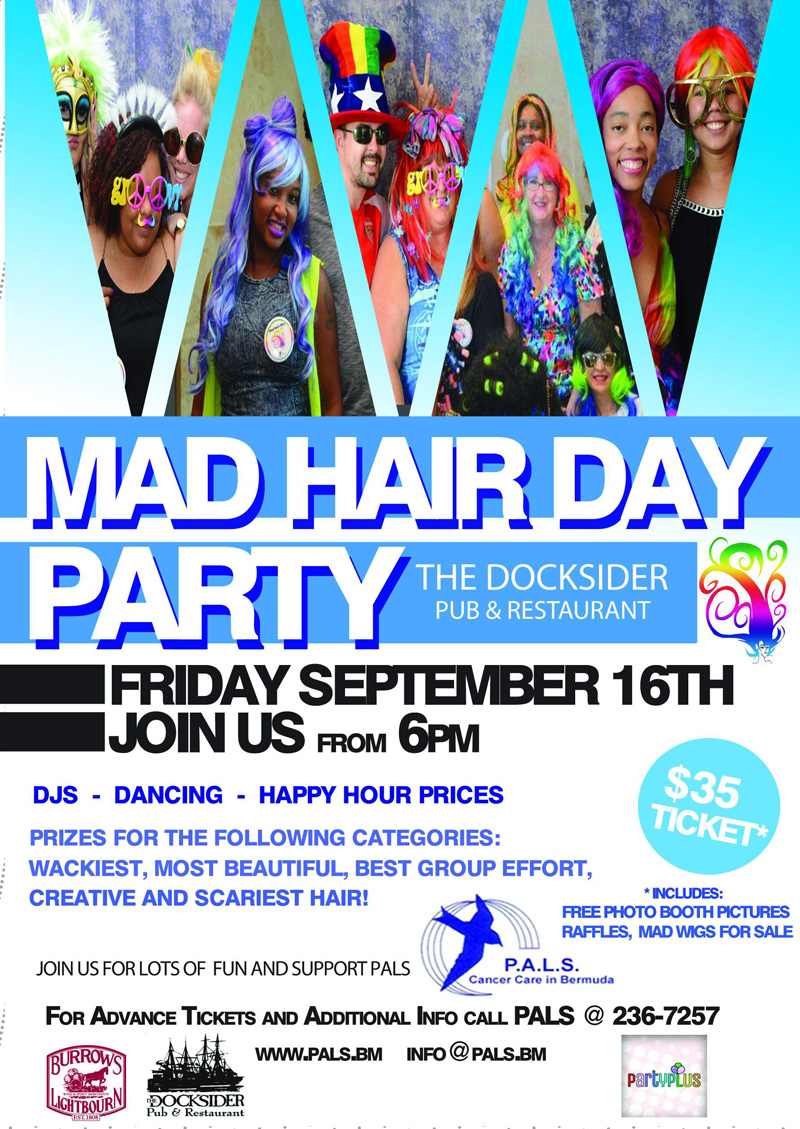 Mad Hair Day Party Docksider Bermuda Sept 13 2016