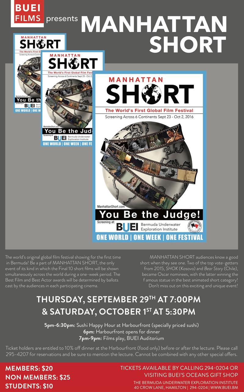 Manhattan Short Bermuda September 27 2016