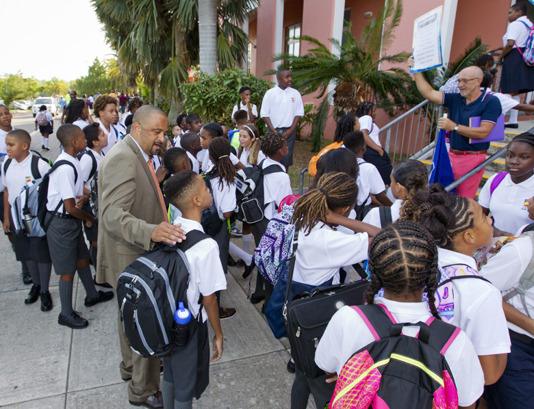Minister First Day School Bermuda Sept 8 2016 2