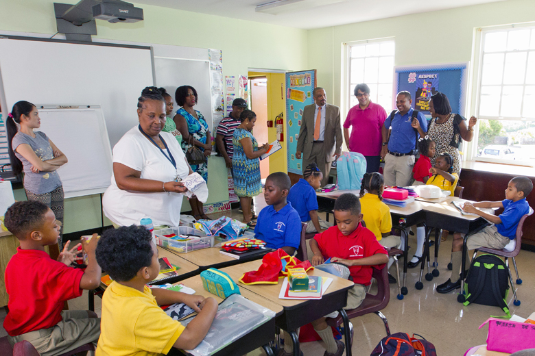 Minister First Day School Bermuda Sept 8 2016 5