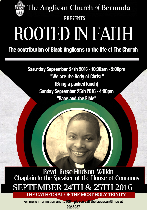 Rooted in Faith Bermuda September 21 2016