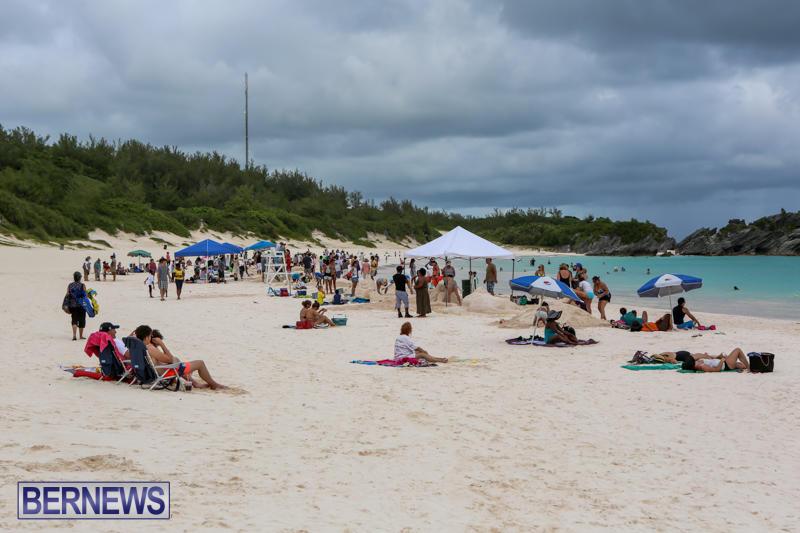Sand-Sculpture-Competition-Horseshoe-Bay-Beach-Bermuda-September-5-2015-1