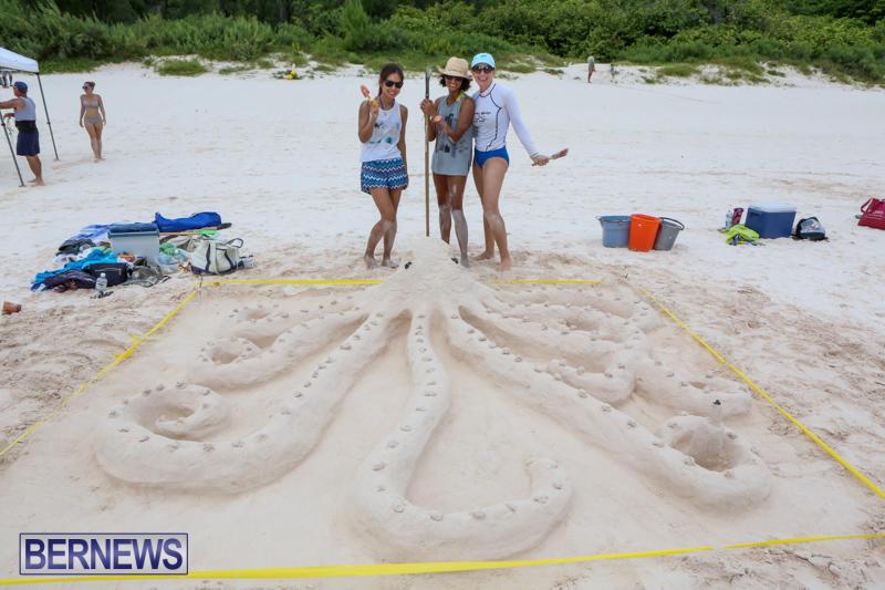 Sand-Sculpture-Competition-Horseshoe-Bay-Beach-Bermuda-September-5-2015-14
