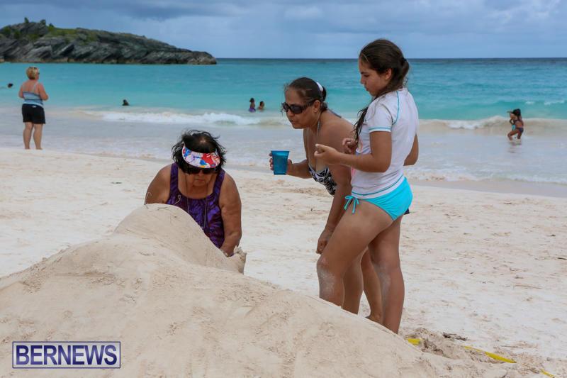 Sand-Sculpture-Competition-Horseshoe-Bay-Beach-Bermuda-September-5-2015-3