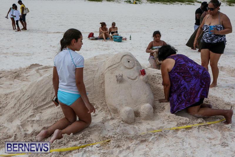 Sand-Sculpture-Competition-Horseshoe-Bay-Beach-Bermuda-September-5-2015-5