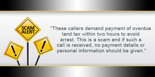 Scam Alert Bermuda TC September 1 2016 2