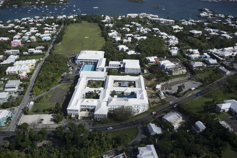 Warwick Academy Aerials Bermuda Sept 19 2016