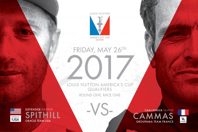 35th America's Cup Schedule October 18 2016