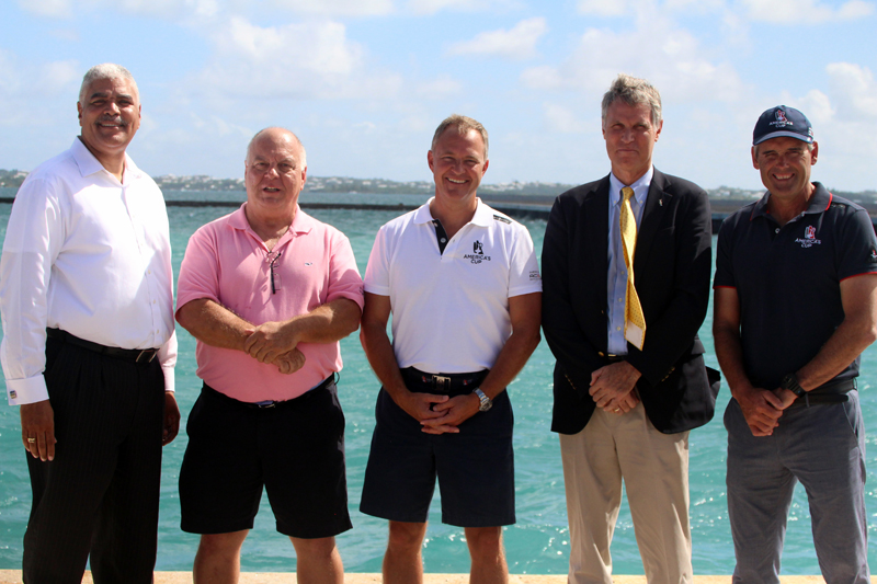 AC Celebrates Cross Island Major Milestone Bermuda October 2016