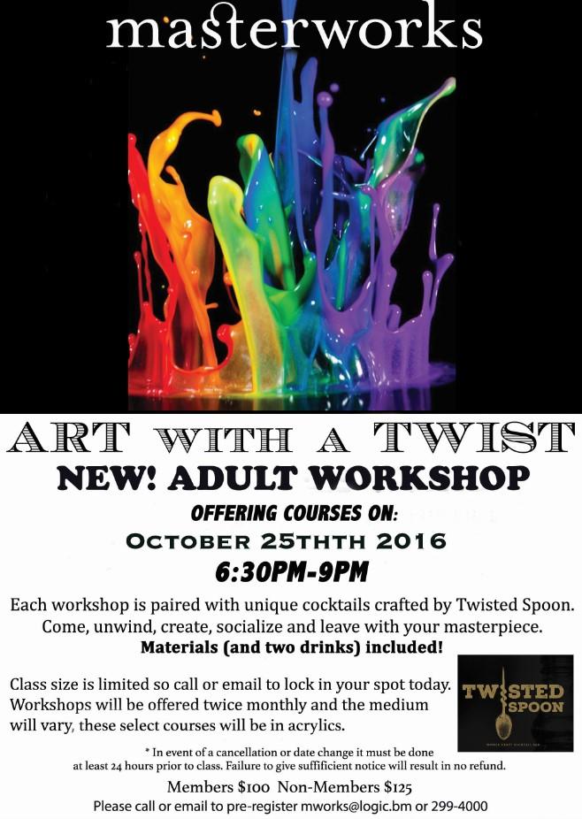 Adrienne Workshop Bermuda October 6 2016