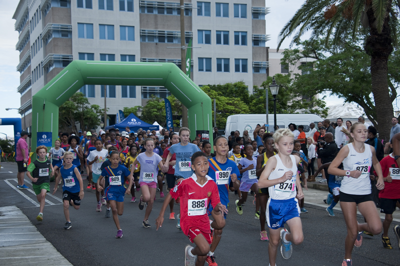 Argus 5K Road Race and Walk Bermuda October 2016 1