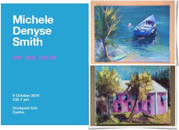 Art and Color Bermuda October 2 2016
