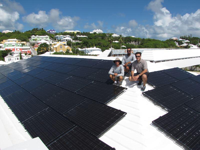 BE Solar Warwick Gas Station 2016 Bermuda