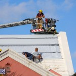 Bermuda Fire & Rescue Service Bethel AME Roof, October 15 2016-33