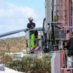 Bermuda Fire & Rescue Service Bethel AME Roof, October 15 2016-6