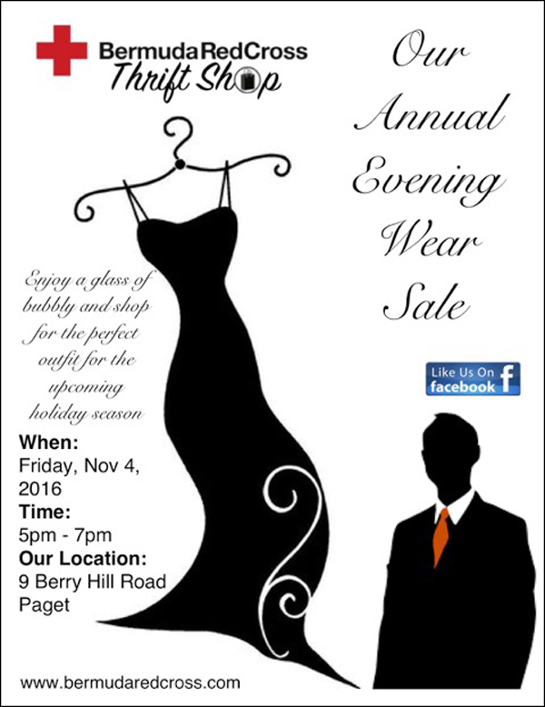 Evening Wear Sale Bermuda October 2016